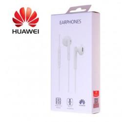 Cuffie auricolari ORIGINALI Huawei AM115 jack 3,5mm universali con microfono tasti volume bianche