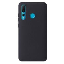 Cover per Huawei Y7 2019 serie Soft-Touch Stileitaliano® morbida opaca Nera