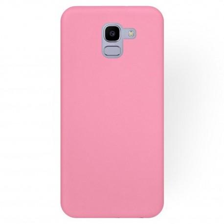 Cover per Samsung J6 2018 J600 serie Soft-Touch Stileitaliano® morbida opaca ROSA