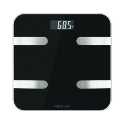 Bilancia da bagno Smart Bluetooth BMI peso indice di massa corporea in vetro temperato