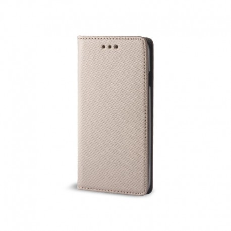Custodia per IPHONE XS MAX serie Magnetic Stileitaliano® Chiusura Magnetica flip a libro ORO -