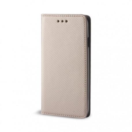 Custodia per  LG K8 2018 - K9  serie Magnetic Stileitaliano® Chiusura Magnetica flip a libro ORO -