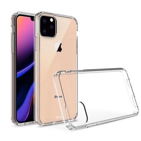 """Cover Morbida per iPhone  XI 11 2019 5,8"""" Serie ULTRASOFT Stileitaliano in silicone TPU sottile Trasparente"""