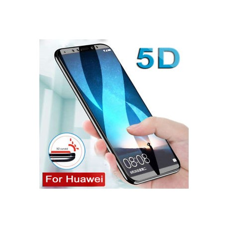 Pellicola 5D FULL  Huawei P SMART 2019  - Honor 10 lite  Stileitaliano®  vetro Temperato  Copre i bordi  compatibile con