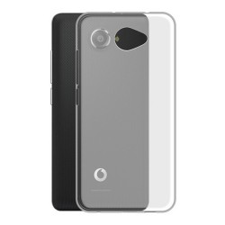Cover Morbida per Vodafone Smart N10 ULTRASOFT Stileitaliano in silicone TPU sottile Trasparente