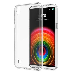 Cover Morbida per LG X POWER Serie ULTRASOFT Stileitaliano® in TPU Trasparente -