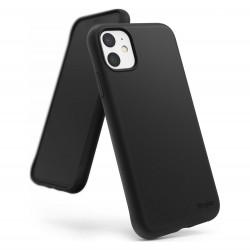 Cover per IPHONE 11 serie Soft-Touch Stileitaliano® morbida opaca NERA