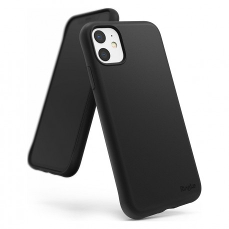 Cover per IPHONE 11 serie Soft-Touch Stileitaliano® morbida opaca NERA