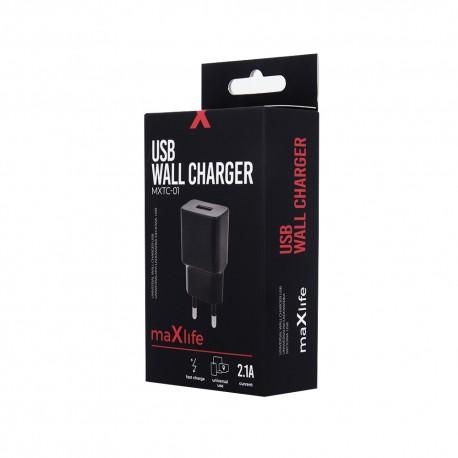 Presa Caricabatterie USB Spina senza Cavo Universale 2.1A 2A Max