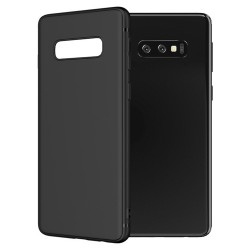 Cover per Samsung S10 LITE G770 - A91 serie Soft-Touch Stileitaliano® morbida opaca NERA
