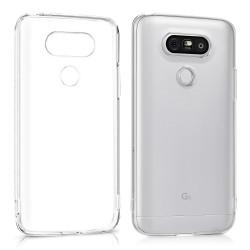 Cover Morbida per LG K50 - Q60 Serie ULTRASOFT Stileitaliano in silicone TPU sottile Trasparente