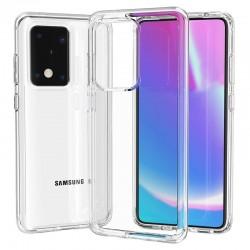Cover Morbida per Samsung S20 Ultra Serie ULTRASOFT Stileitaliano in silicone TPU sottile Trasparente