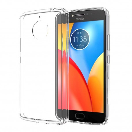 Cover Morbida per Motorola Moto E4 Plus Serie ULTRASOFT Stileitaliano® in TPU Trasparente