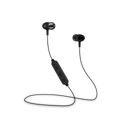 Cuffie Sport auricolari SENZA FILI Bluetooth con microfono e tasti volume Setty Nere