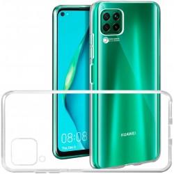 Cover Morbida per Huawei P40 Lite 5G Serie ULTRASOFT Stileitaliano in silicone TPU sottile Trasparente