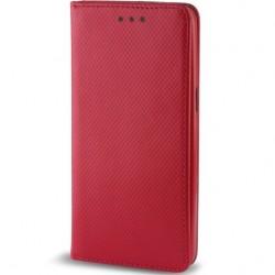 Cover per Apple iPhone 12 Pro Max 6,7 serie Magnetic Stileitaliano® Chiusura Magnetica flip a libro Rossa
