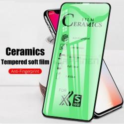 Pellicola display per Iphone 12 - 12 Pro 6,1 Stileitaliano® Ibrida PET + Silicone ceramico flessibile copertura Bordi