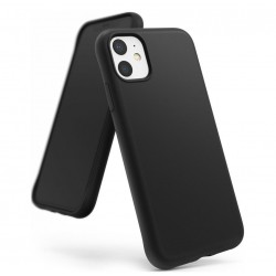 Cover per IPHONE 12 Mini 5,4 serie Soft-Touch Stileitaliano® morbida opaca NERA
