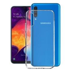 Cover Morbida per Samsung A50 A505 Serie ULTRASOFT Stileitaliano in silicone TPU sottile Trasparente