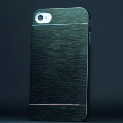 Cover custodia IPHONE 6 plus 5,5 ALLUMINIO Stileitaliano® NERO