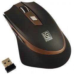 Mouse Wireless LC-Power M719BW 6 Pulsanti Nero Bronzo