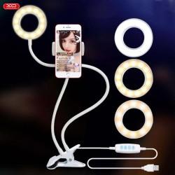 Supporto lampada stand con Led anello circolare luminoso per video selfie tiktok instagram L01