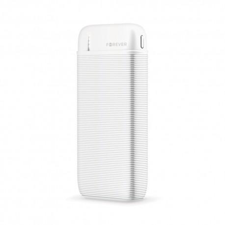 Power Bank 10000 mah 2 uscita USB 2.1A display led Ricarica Rapida batteria esternaTB-10M Bianco
