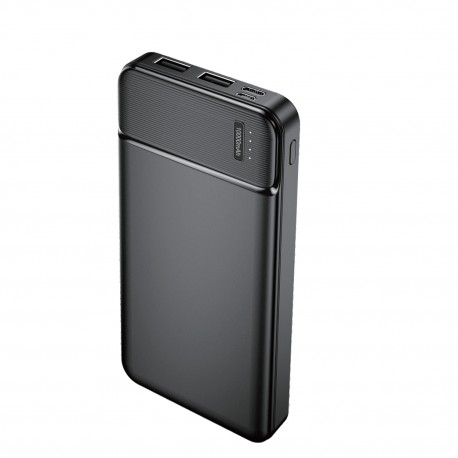 Power Bank 10000 mah 2 doppia uscita USB 2.4A display led Ricarica Rapida batteria esterna Maxlife MXPB-01