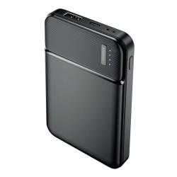 Power Bank 5000 mah 2 uscita USB 2.4A display led Ricarica Rapida batteria esterna Maxlife MXPB-01