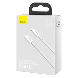 Cavo per Apple IPHONE 13 12 da Type-C a Lightning Ricarica Rapida PD 20W 1,5 metro Besus Bianco