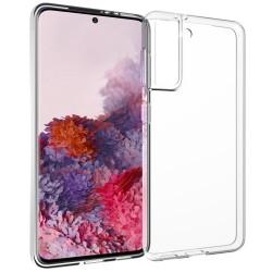 Cover Morbida per Samsung S21 FE G990 Serie ULTRASOFT Stileitaliano in silicone TPU sottile Trasparente