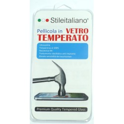 PELLICOLA UNIVERSALE 4,5 pollici Stileitaliano® IN VETRO TEMPERATO INFRANGIBILE ANTIURTO ANTIGRAFFIO